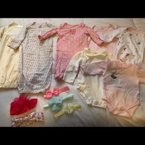 Other - 0-3 mos baby girl clothes
